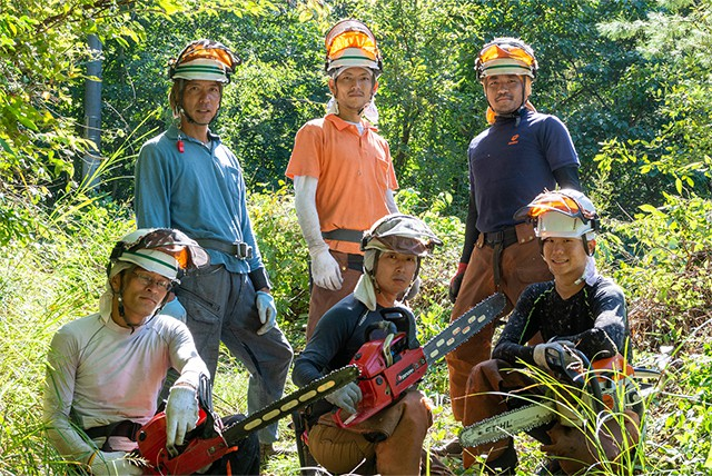 世羅西開発の林業事業の強み!